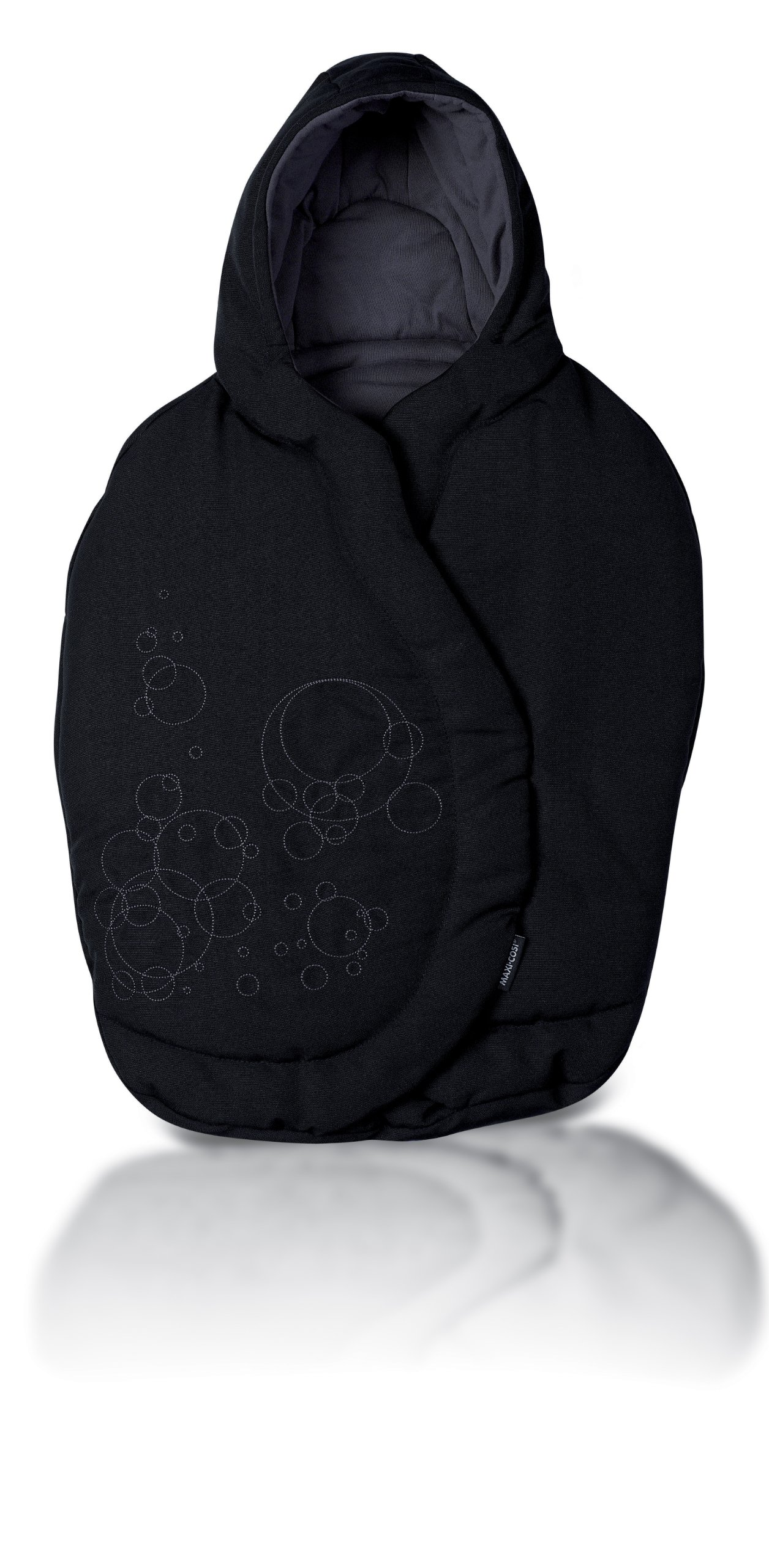 Maxi-Cosi Infant Car Seat Footmuff, Total Black