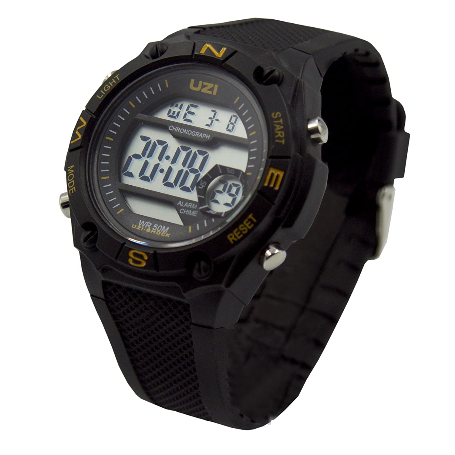 903b6d1d7 Amazon.com   UZI Shock Digital Watch   Sports   Outdoors