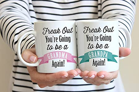 Set Of 2 Fuuy Mugs With Quotes Frake Out You Are Going To Be A