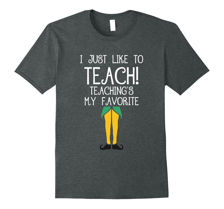 Womens TEACHER Christmas T Shirt Teach-Tovacu
