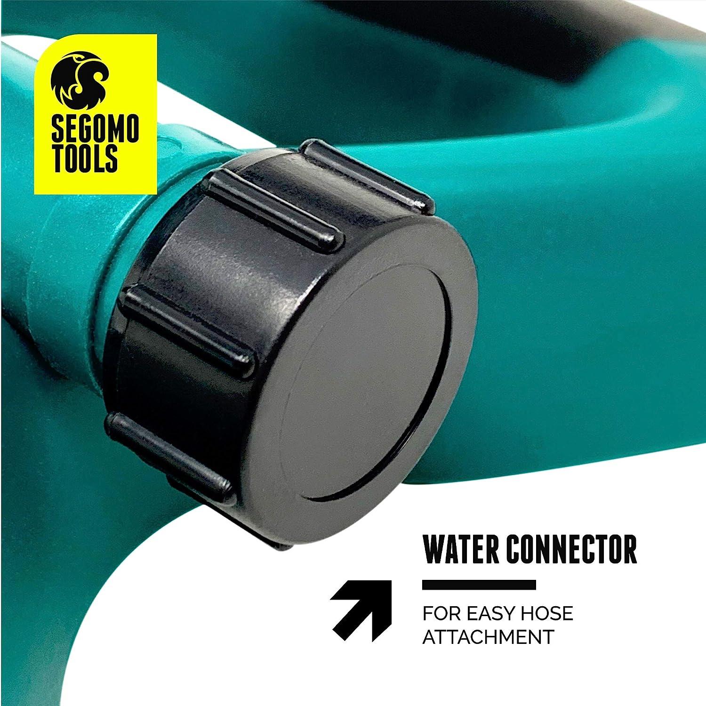 Segomo Tools 360 Degree Automatic Rotating Garden Lawn Water Sprinkler Irrigation System - GS360 : Garden & Outdoor