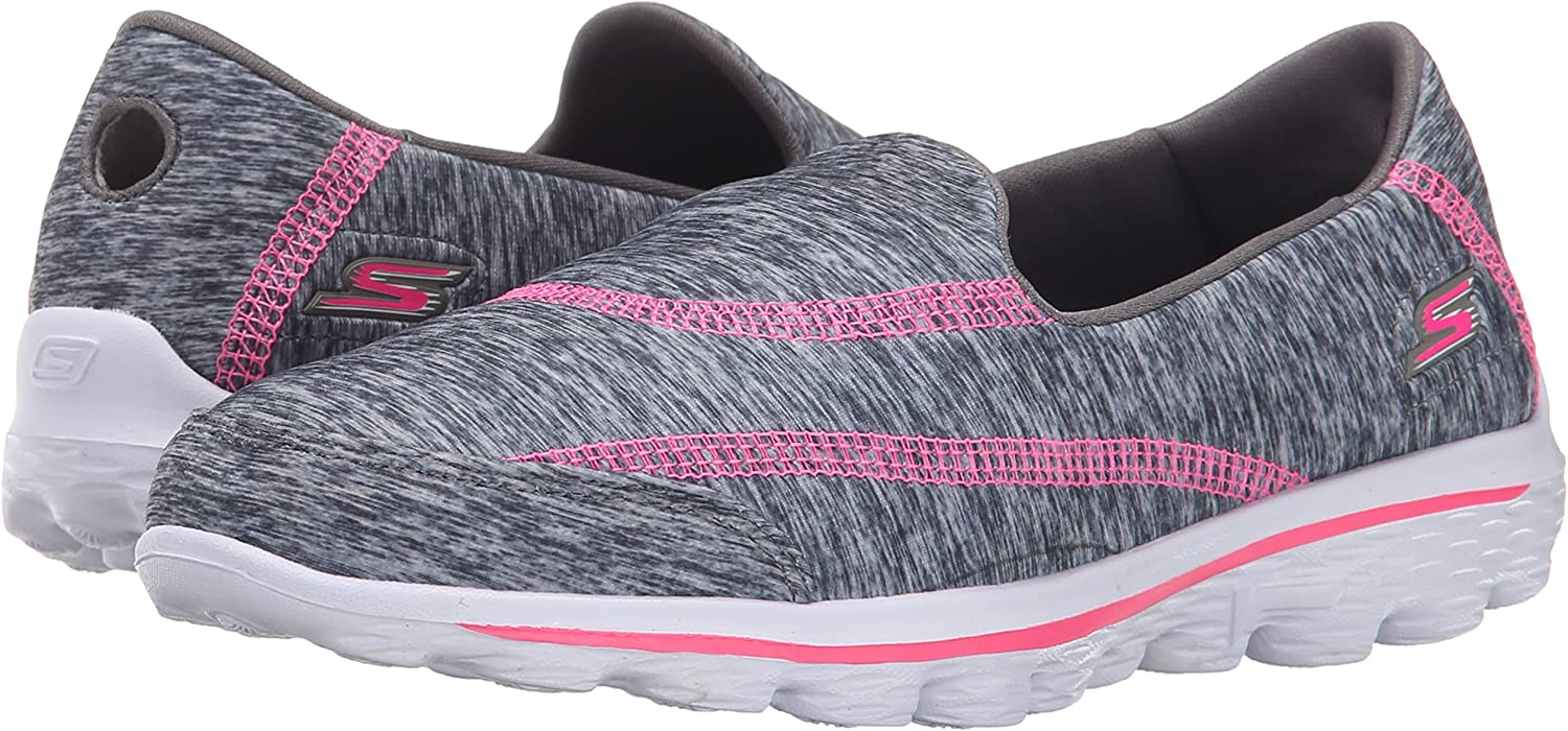SkechersGo Walk 2 Relay - Zapatillas de running chica: Amazon.es ...