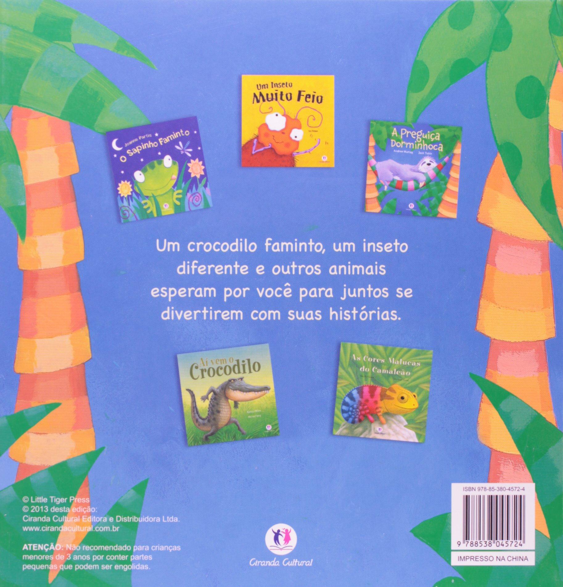 Minha Maleta de Historias de Animais: Ciranda Cultural, 0: 9788538045724: Amazon.com: Books