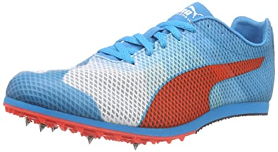 best sneakers 3ac86 a83d3 Puma Menss Evospeed Star v4 Running Shoes Weiß (White-Atomic Blue-red  Blast