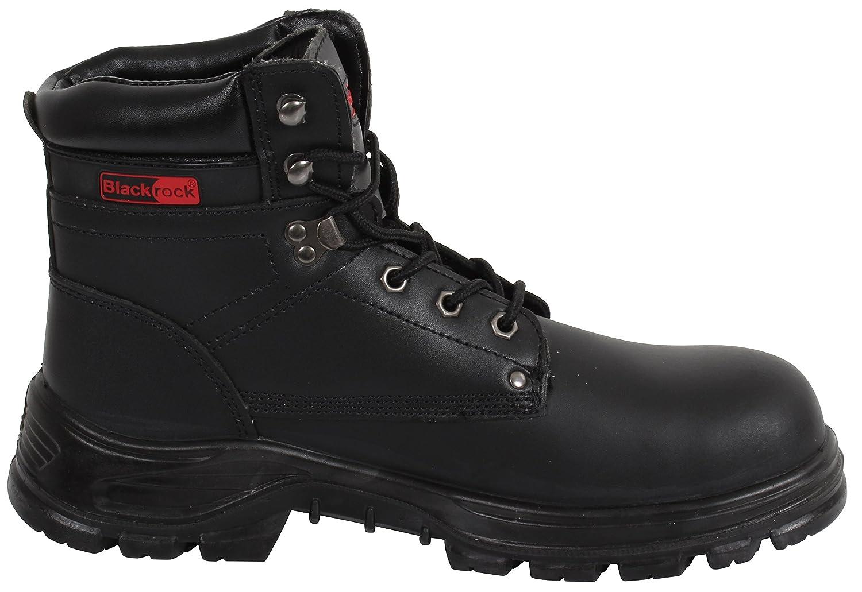 Blackrock SF08,Unisex-Erwachsene Sicherheitsschuhe, Schwarz (Black), 37 EU (4 UK)