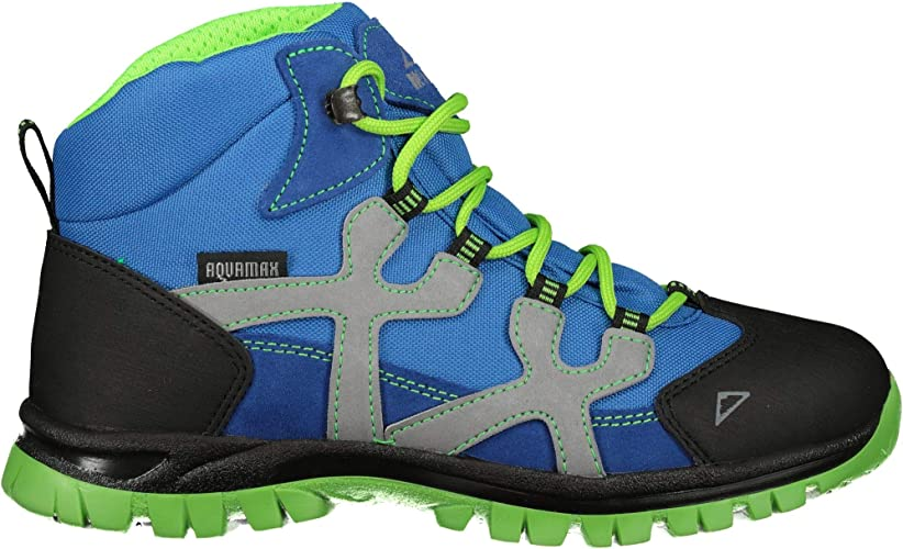 Brütting Ohio High Kids Kinder Wanderschuhe Kinder grün Schuhe Outdoor Trekking