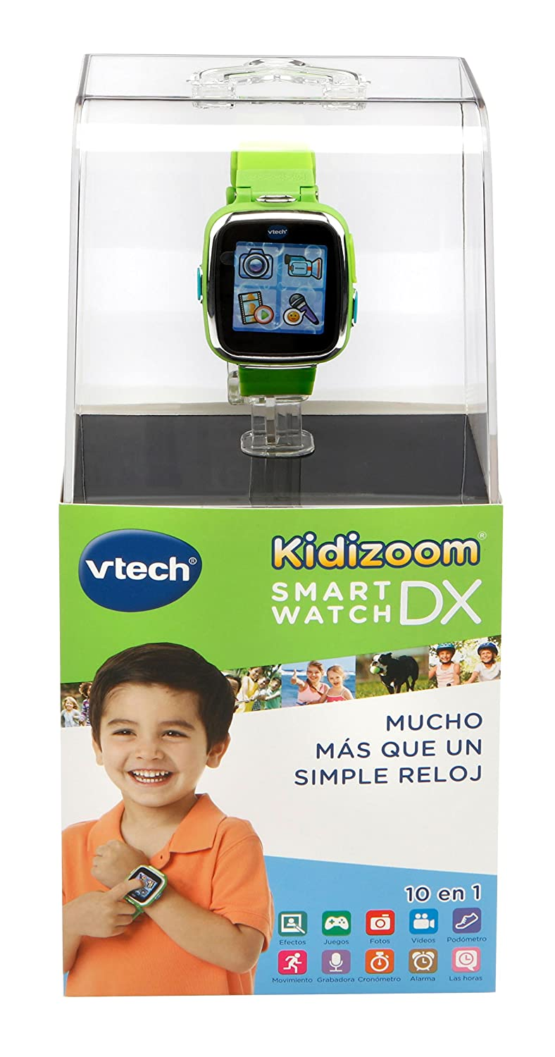Amazon.es: VTech Reloj multifunción Kidizoom Smart Watch DX, Color Verde (3480-171687)