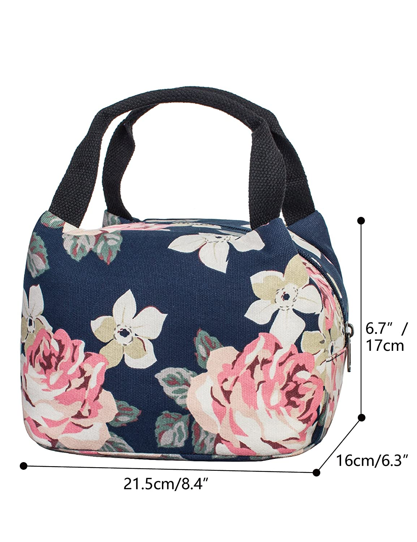 Leaper Cute Insulated Lunch Box Lunch Bags Pencil Case Pencil Bag Purse 2 PCS
