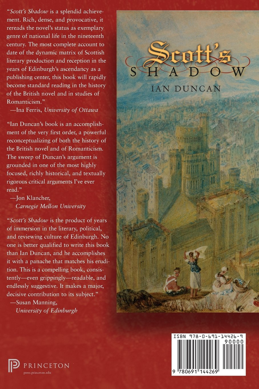 Amazon: Scott's Shadow: The Novel In Romantic Edinburgh (literature In  History) (9780691144269): Ian Duncan: Books