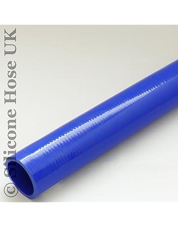 Reductor Unidades Silicona Di/ámetro 50/ /60/mm Azul Silicona Manguera Enfriador Manguera Flexible Universal Turbo Tubo