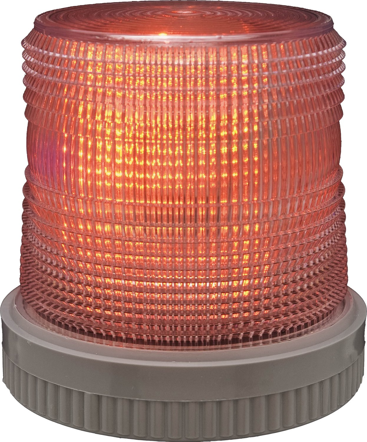Edwards Signaling 105XBRMR24D XTRA-BRITE LED Multi-Mode Beacon, Heavy Duty, 24V DC, Red by Edwards-Signaling
