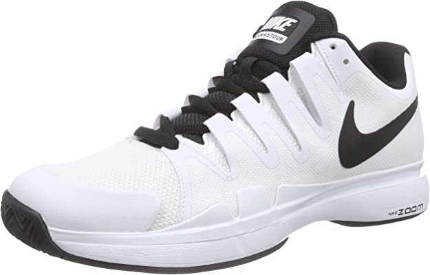 herramienta En todo el mundo Privilegio  Amazon.com | Nike Men's Zoom Vapor 9.5 Tour Tennis Shoe White/Black/Black  11.5 | Tennis & Racquet Sports