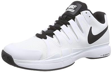 d8783952e8e0 Nike Men s Zoom Vapor 9.5 Tour Tennis Shoe White Black Black 9