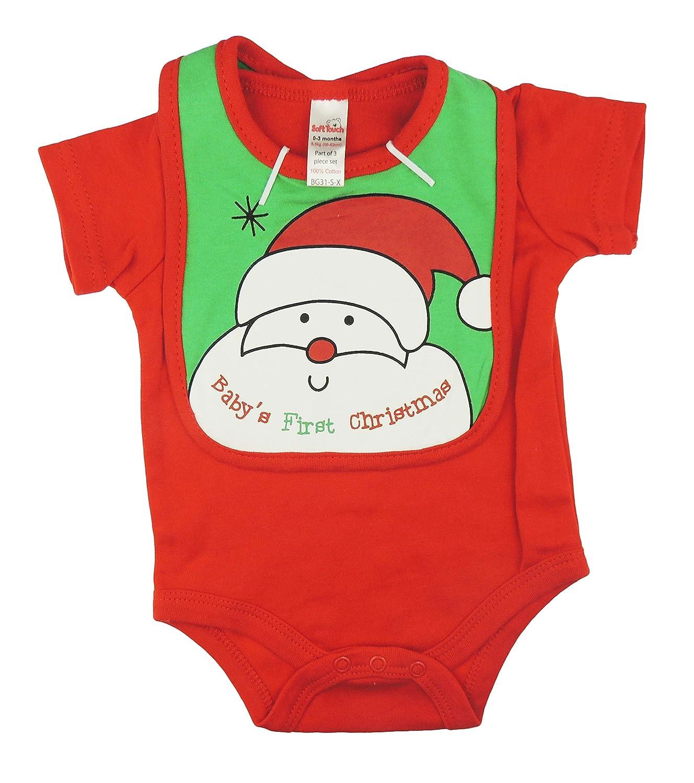 Pelele de Navidad suave para niñas y niños, 3 piezas, conjunto de ...