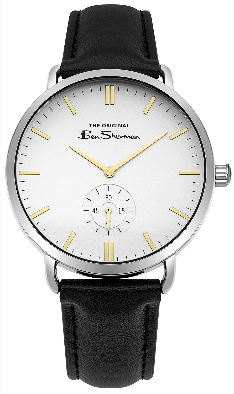 Uhr Herren Pu Quarz Datum Ben Klassisch Armband Mit Sherman Bs009wb PTukZiXlwO
