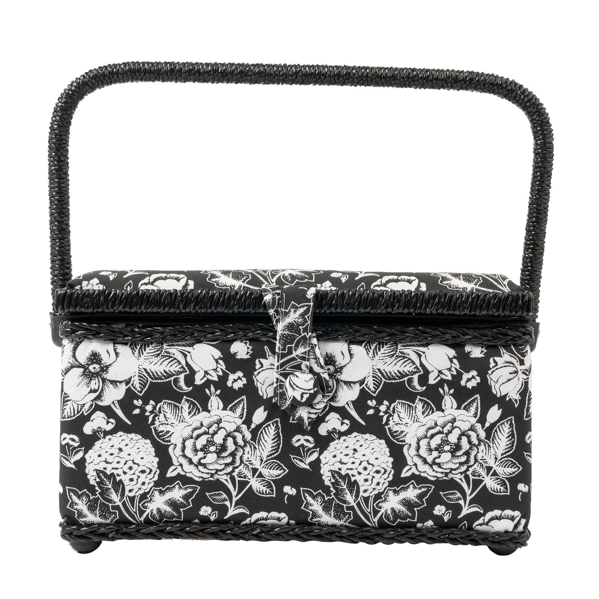 SINGER 07232 Sewing Basket with Sewing Kit Accessories