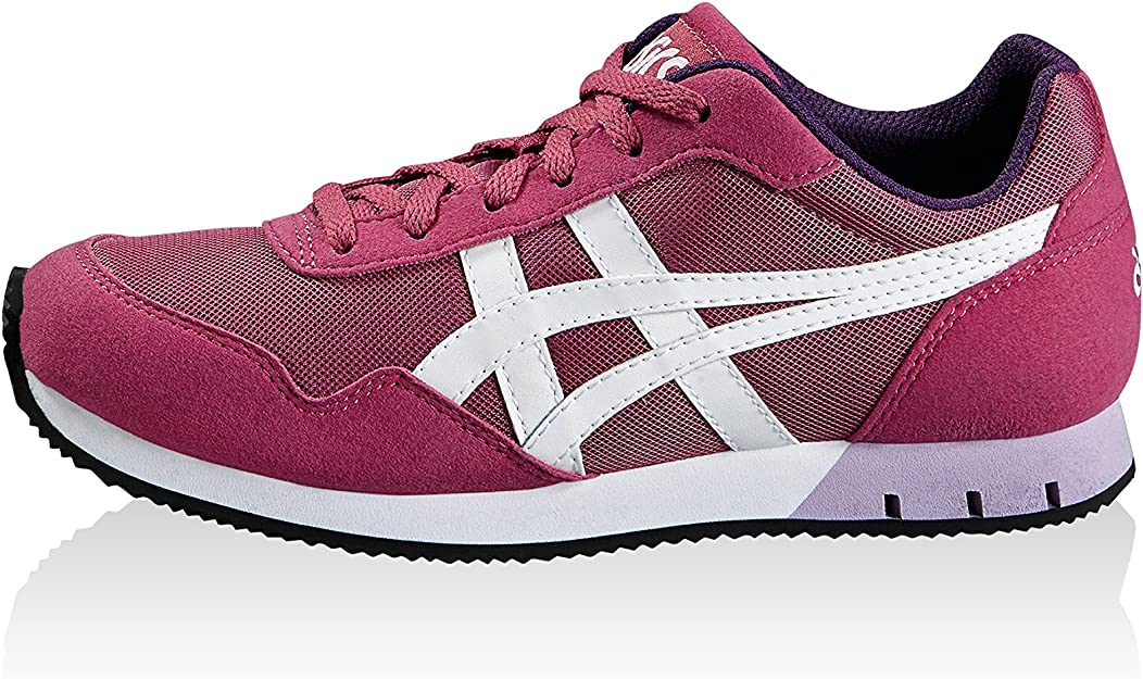 Asics Zapatillas Curreo GS Magenta/Blanco EU 36 (US 4): Amazon.es ...