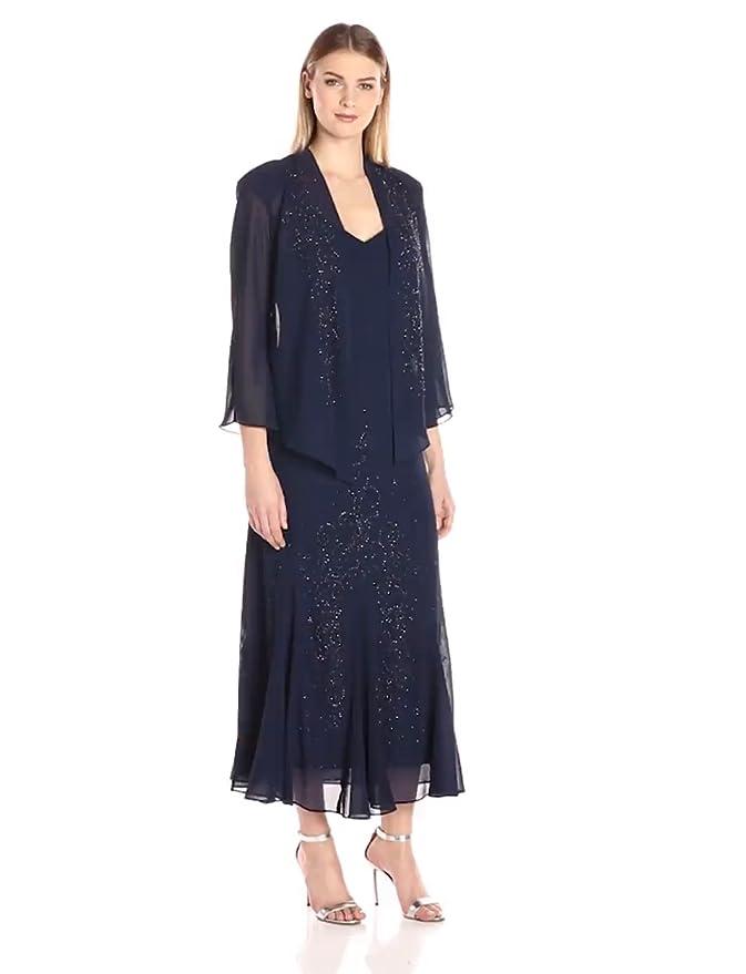 1930s Style Fashion Dresses  Beaded Georgette Jacket Dress $141.00 AT vintagedancer.com
