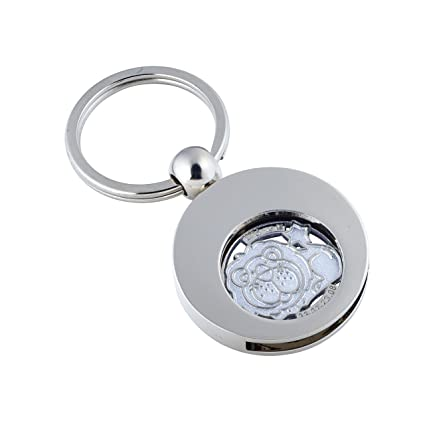 little-presents 1402 - Llavero con moneda para el carro de ...