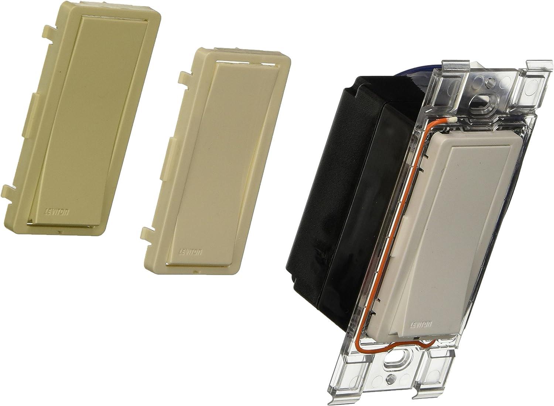 Max 49% OFF Leviton WSS10-GUZ Sale special price LevNet RF Wall Non-Neutral Decora Advanced