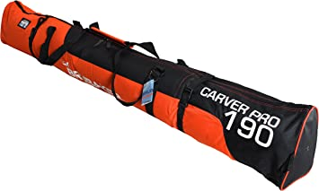 170 cm Henry Brubaker borsa porta sci Carver Pro 2.0 imbottita