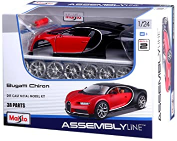 Maisto M39514 - Kit de maqueta para Construir la Plancha Bugatti (Escala 1:24)