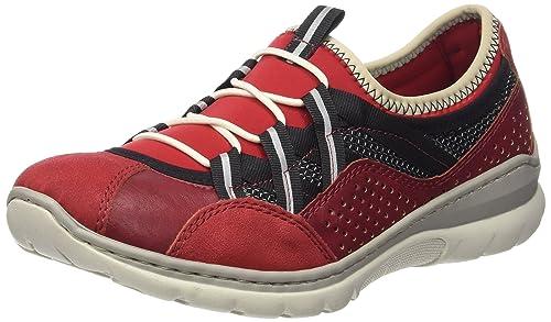 Rieker Damen L3256 Women Low top Sneakers