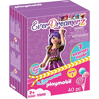 PLAYMOBIL EverDreamerz Viona with Chocolate Charm & 7 Surprises: Toys & Games