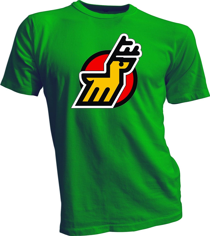 美品  ミシガン州Stags Defunct Wha HockeyヴィンテージスタイルTシャツグリーン新しいSmall Wha Defunct B013YX3TSO B013YX3TSO, 三豊郡:507a471a --- a0267596.xsph.ru