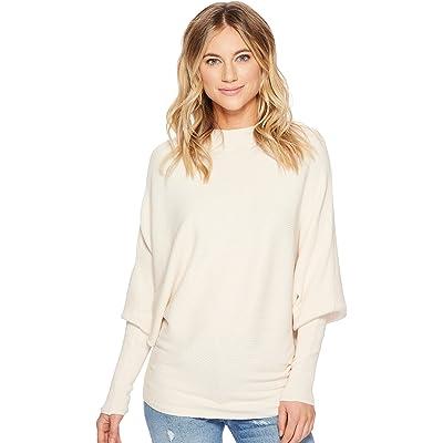 American Rose Womens Penelope Dolman Sleeve Ribbed Sweater
