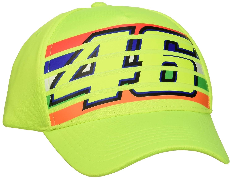 Valentino Rossi Vr46 Classic-Stripes, cap Hombre, Amarillo Fluo ...