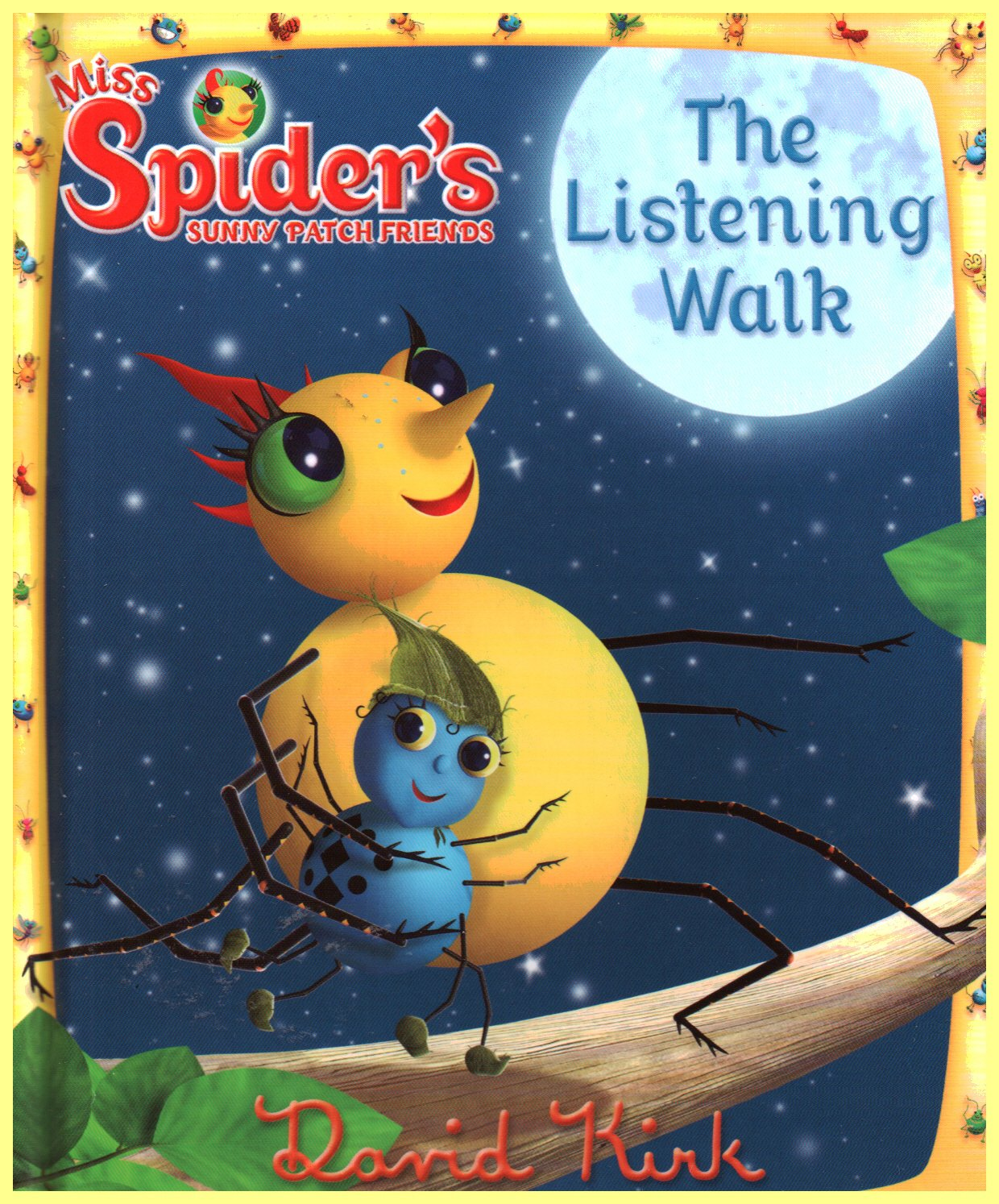 The Listening Walk (Miss Spider's Sunny Patch Friends, Vol. 12) ebook