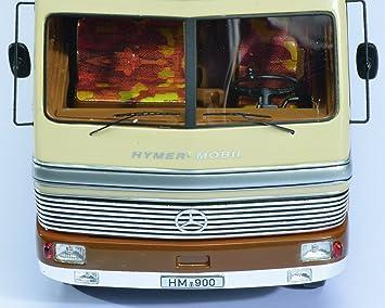 Schuco Dickie 450899500 - HYMER móvil 900 1: 43, Beige/Marrón: Schuco / Pro.R: Amazon.es: Juguetes y juegos
