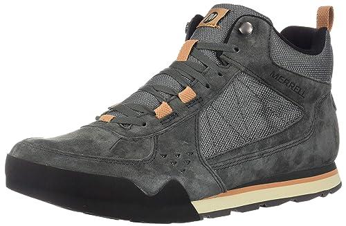 b454b72258713 Merrell Men's Burnt Rock Tura Mid Shoes: Amazon.ca: Shoes & Handbags