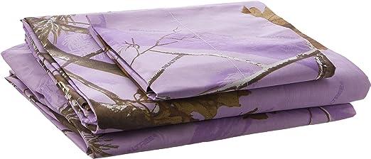 Kimlor Mills Realtree APC Shower Curtain Lavender