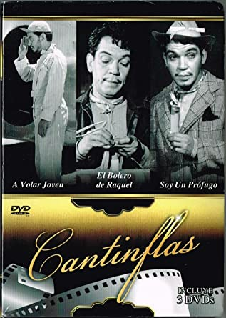 CANTINFLAS (3 PELICULAS) A VOLAR JOVEN & EL BOLERO DE RAQUEL & SOY UN