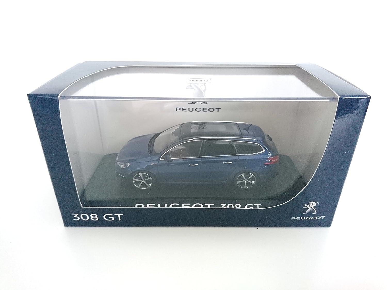 Peugeot 308 SW GT Bleue 1/43 NOREV ré f: 473838