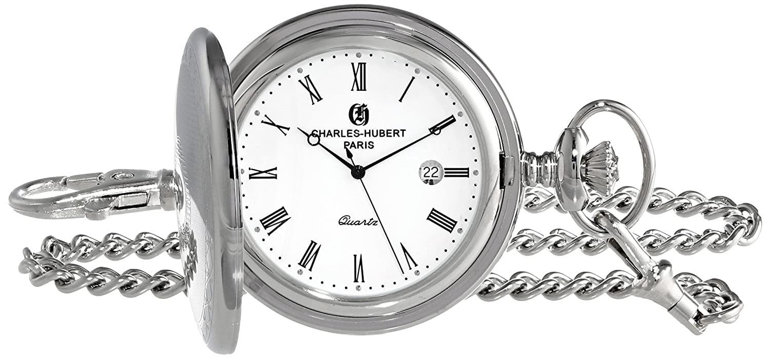 Charles-Hubert Paris 3915 Premium Collection Analog Display Quartz Taschenuhr