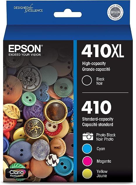 Amazon.com: Epson 410XL Combo de 5 unidades de cartuchos de ...