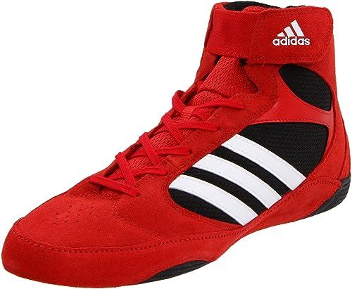 watch 6064f bdd38 Adidas Pretereo.2 de lucha del zapato, universitarios rojo   blanco    negro, 13 D con nosotros  Amazon.es  Zapatos y complementos