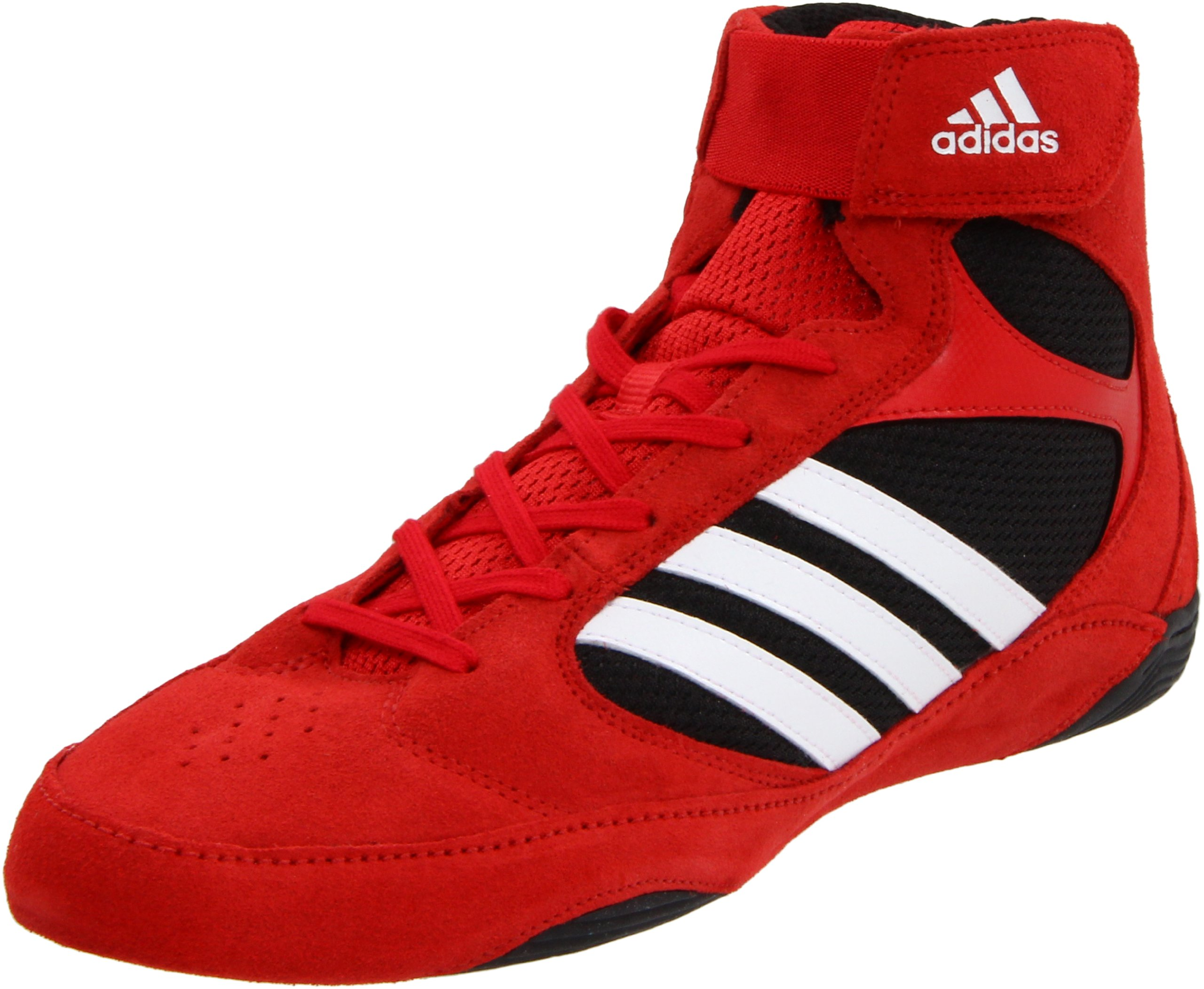 adidas Men's Pretereo.2 Wrestling Shoe,Collegiate Red/White/Black,11.5 D US