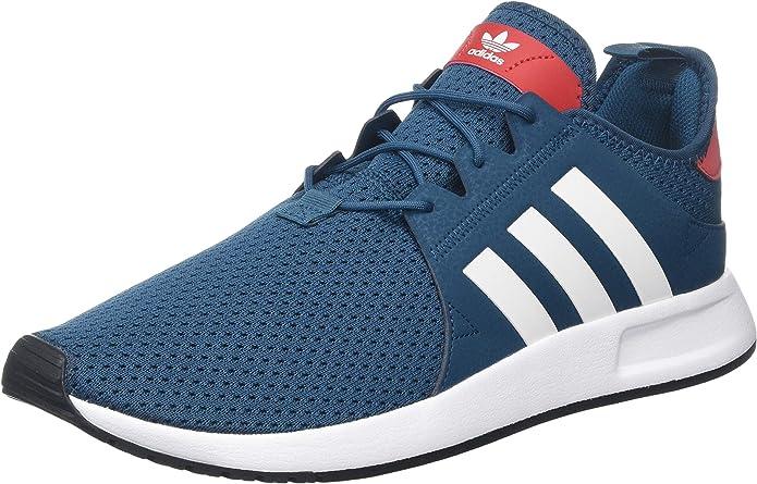 adidas X_PLR Sneakers Herren Blau/Rot mit weißen Streifen