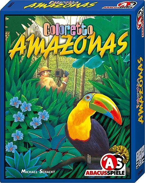 ABACUSSPIELE 08051 Amazonas - Juego de cartas sobre animales ...