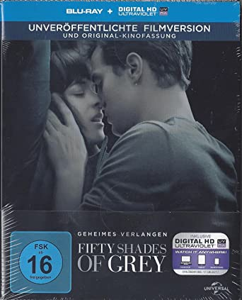 Fifty Shades Of Grey Geheimes Verlangen Steelbook Blu Ray Inkl