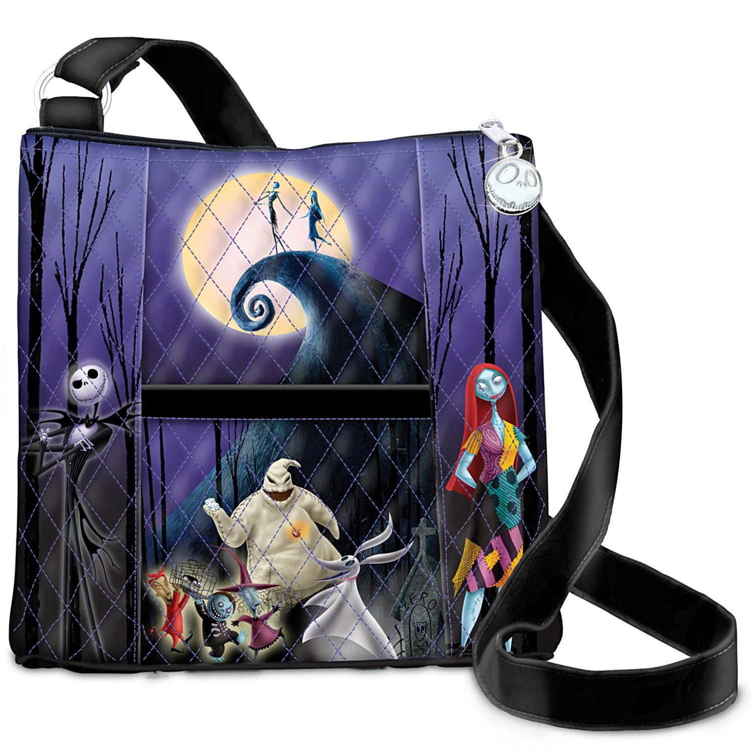 The Nightmare Before Christmas Quilted Crossbody Bag by The Bradford ...
