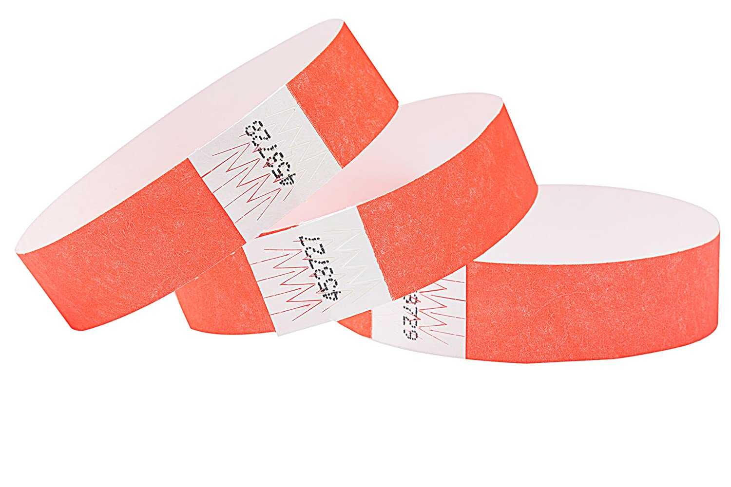 "WRISTBANDS FOR EVENTS 1,000  3//4/""  PAPER TYVEK WRISTBANDS IN 5 COLORS"