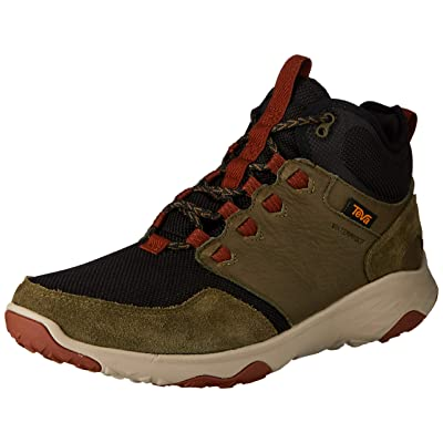 Teva Mens Hiking Boot, Dark Olive, 9 D (M) | Hiking Boots