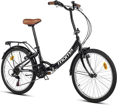 Bicicleta plegable aluminio moma