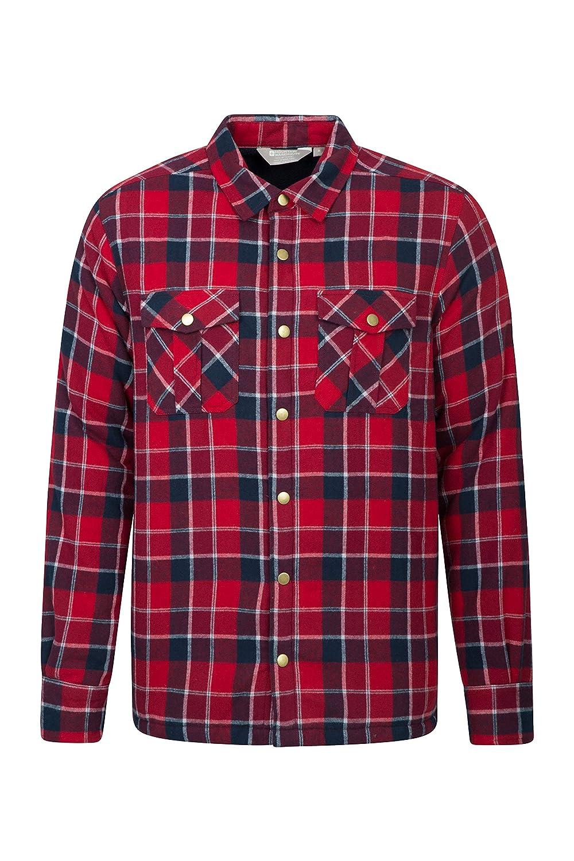 TALLA 3XL. Mountain Warehouse Stream Button UP Flannel Lined Shirt
