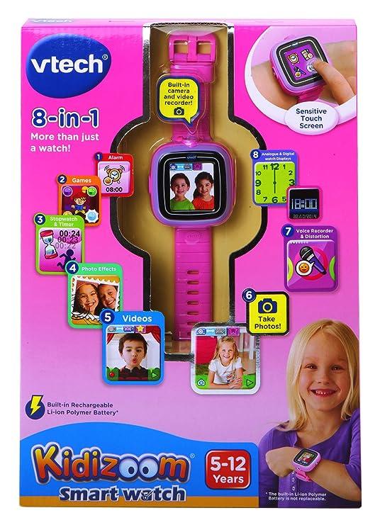 VTech Kidizoom - SmartWatch infantil (128 MB, pantalla de 1.44
